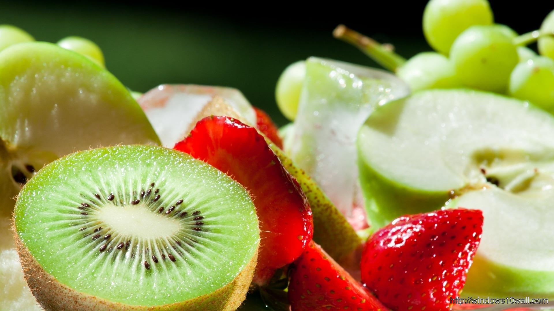 Cute Fruits Wallpaper