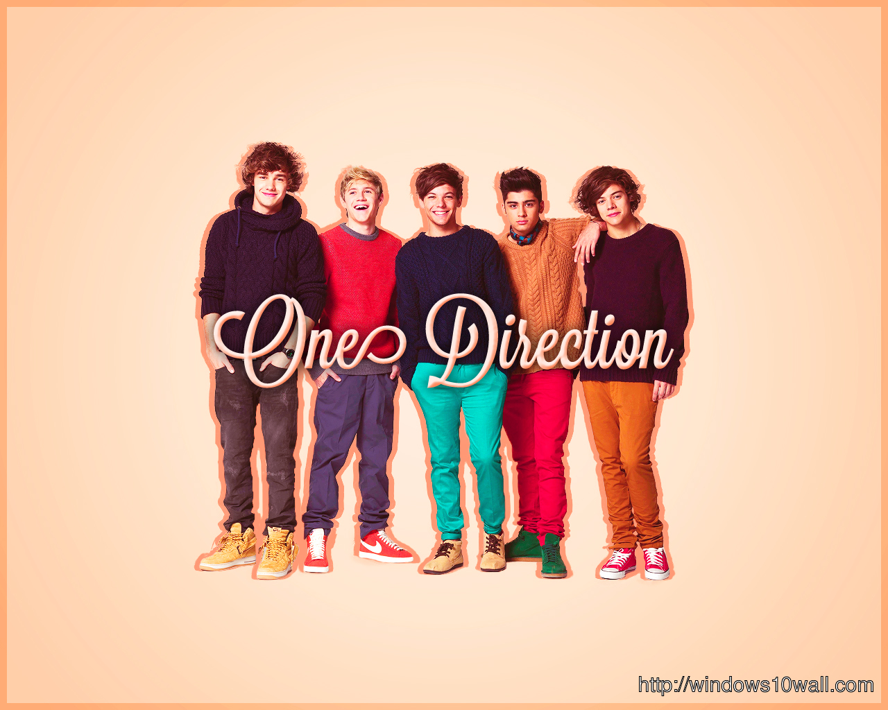 One Direction Wallpaper For Kids