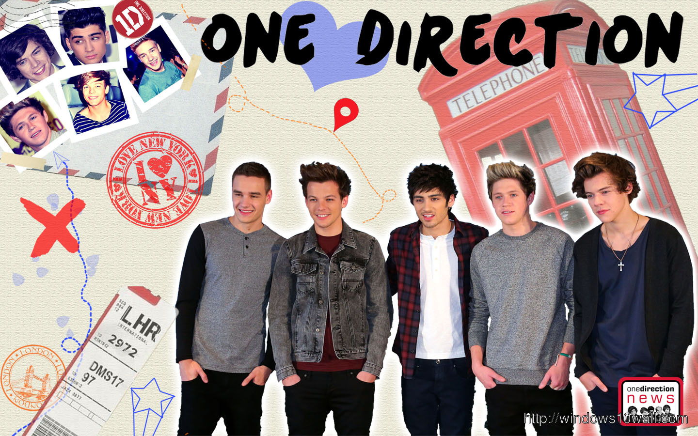One Direction Wallpaper Free Download